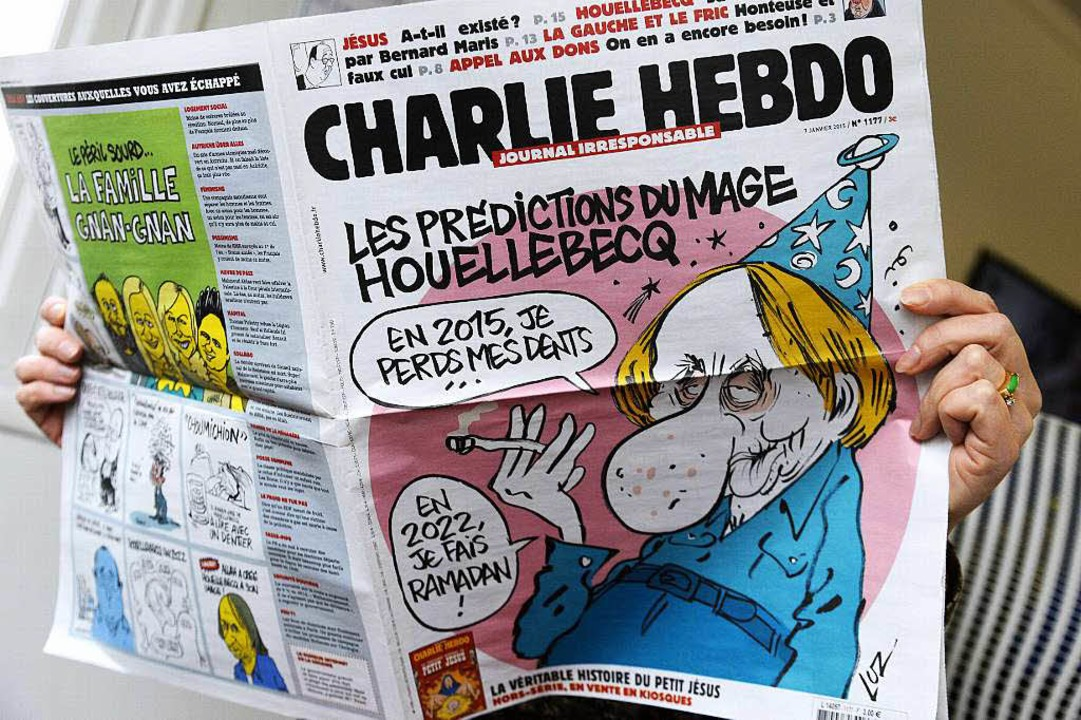 Nach Anschlag Franzosische Zeitungen Stellen Sich Hinter Charlie Hebdo Ausland Badische Zeitung