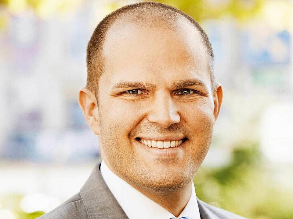 Roman Götzmann, Kandidat für die Oberbürgermeisterwahl in Waldkirch.  | Foto: Daniel Lukac