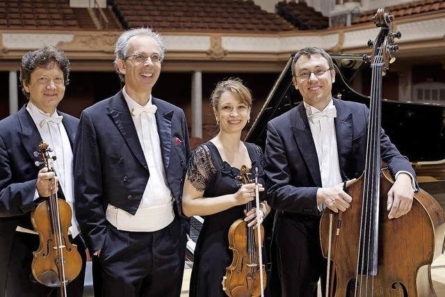 Laszlo-Ensemble konzertiert in der Kulturscheune Rabe