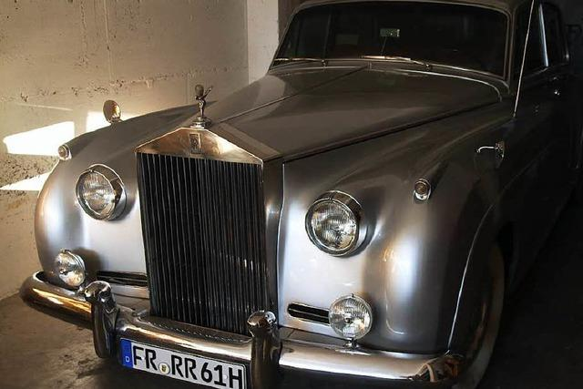 Rolls Royce in Kenzingen soll aus Elvis Presleys Fuhrpark stammen