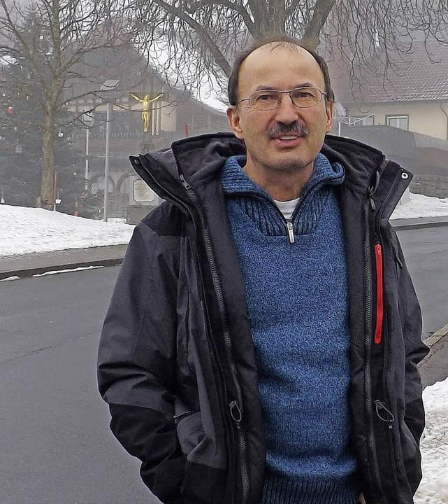 Tetrafunkkritiker Reinhard Lang ist na...sbehörden fahrlässig verharmlost wird.  | Foto: wolfgang adam