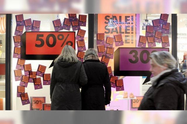 Preisverfall in Euroland