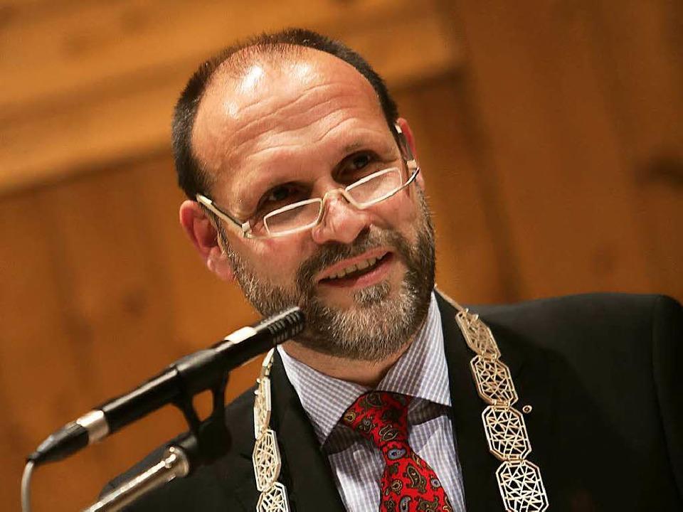 Bürgermeister Wolfgang Brucker  | Foto: Christoph Breithaupt, Christoph Breithaupt