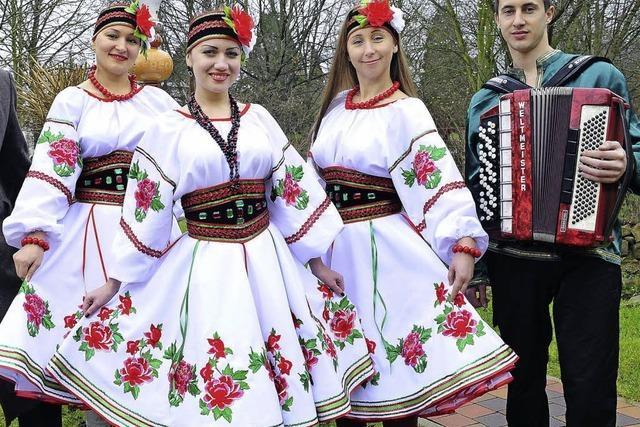 Folkloregruppe aus Odessa in Oberried