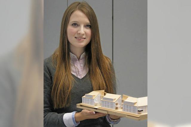Ausbildungsberuf Immobilienkauffrau: Kristina Rogoschin hat eine Arbeit für und mit Menschen