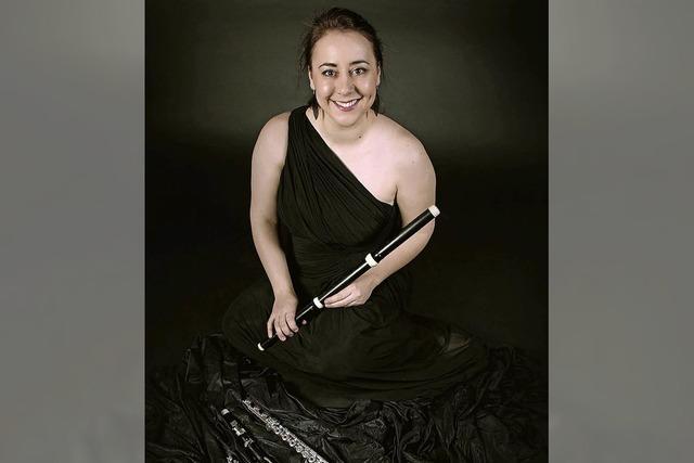 Claire Garde spielt zentrale Kompositionen der Querflötenliteratur