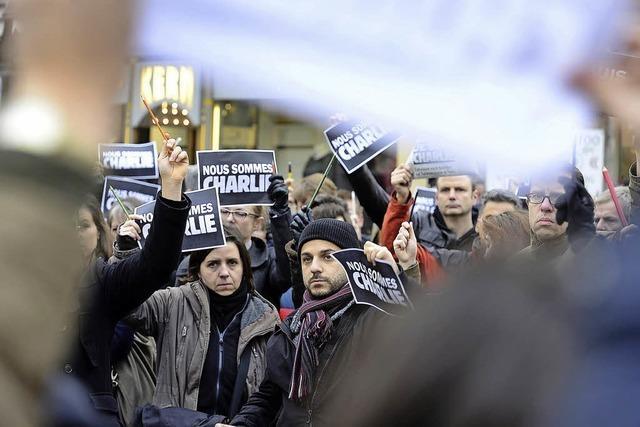 Freiburg zeigt Solidarität mit Charlie