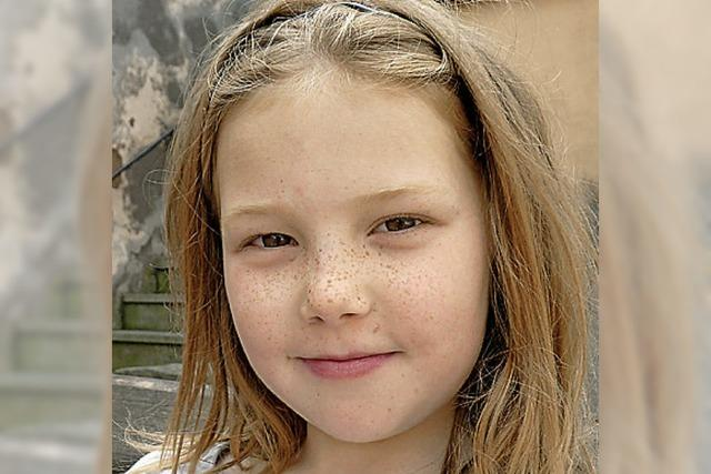 FRAGEBOGEN: Gianna Lea, 9 Jahre, Freiburg