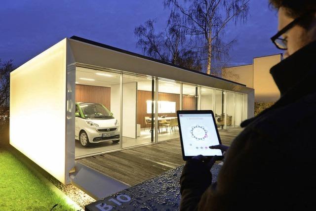 Ein Haus versorgt seine Nachbarn mit Energie