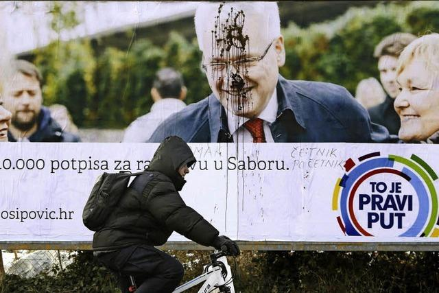 Josipovic muss um neue Amtszeit kämpfen