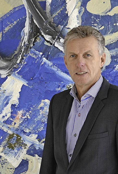 Kunstfreund Dieter Stockkamp  | Foto: PR / Unternehmen