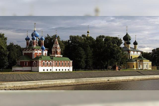 Vortrag über Russland im Gemeindesaal Hügelheim