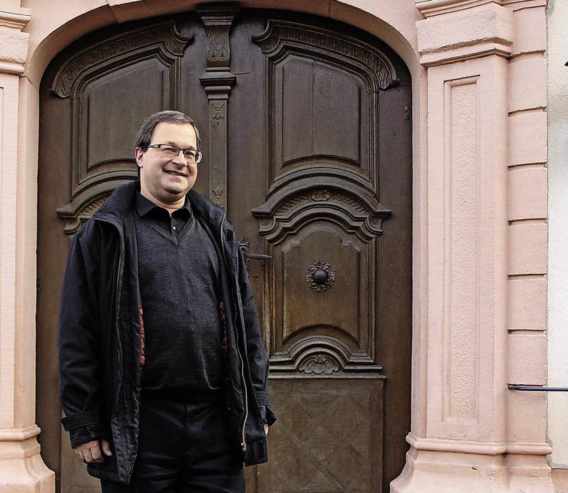 Pfarrer Martin Sauer nimmt am Wochenen...von der Seelsorgeeinheit Herbolzheim.   | Foto: Michael Haberer