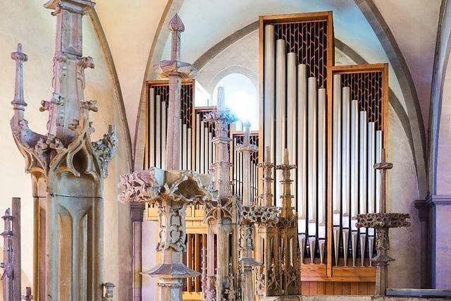 Im Breisacher Münster gab es schon viele Orgeln