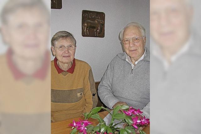 Auszeichnung für Ehepaar Meyer-Oehme