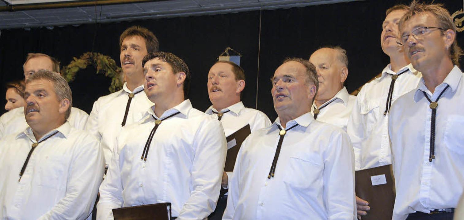 Im Oktober 2010 absolvierte der MGV La...inen seiner letzten Konzertauftritte.   | Foto: Noeske