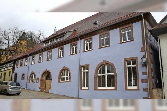 Offene Türen im renovierten und sanierten Rathaus