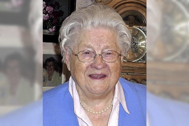 Anastasia Turek wurde 90 Jahre