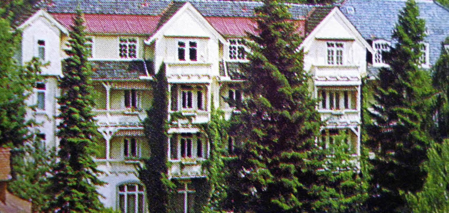 Einst Luisenheim, das Haus Baden und s...Alten- und Pflegezentrums Luisenheim.   | Foto: Thomas Mutter