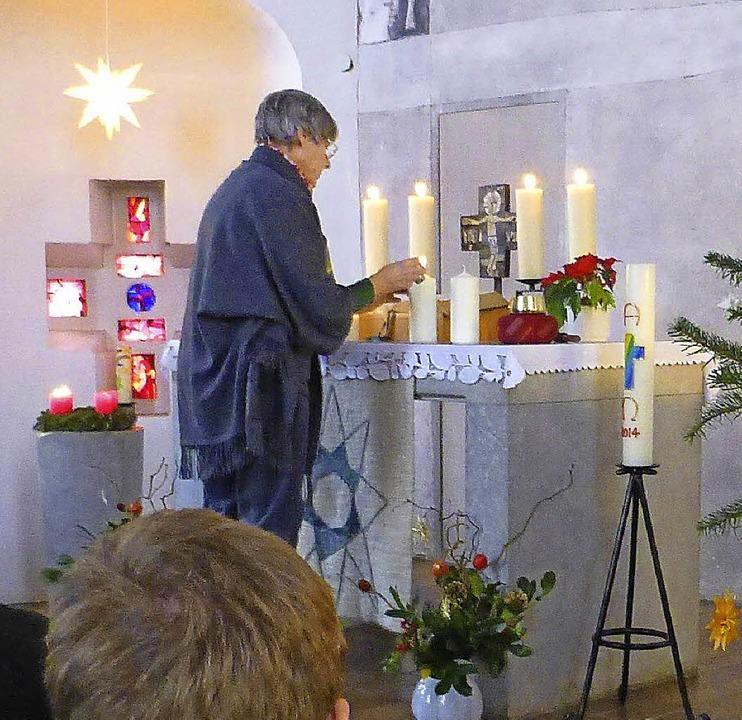 Einen schönen ökumenischen Gottesdiens...inens Christen in der Christuskirche.   | Foto: vw