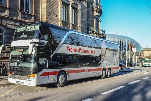 Straßburg ist Knotenpunkt für Fernbuslinien