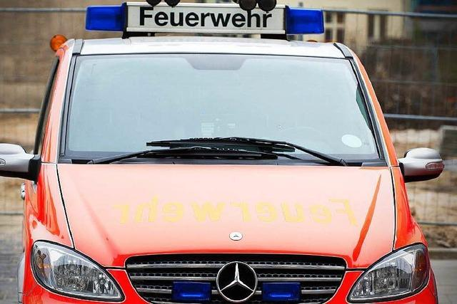 Feuer bricht in Freiburger Studentenwohnheim aus