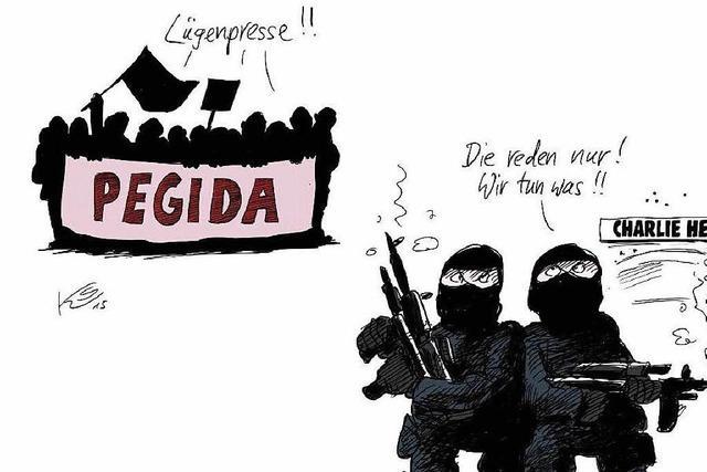 Nach Charlie Hebdo: Zeitungsverleger verteidigen Pressefreiheit