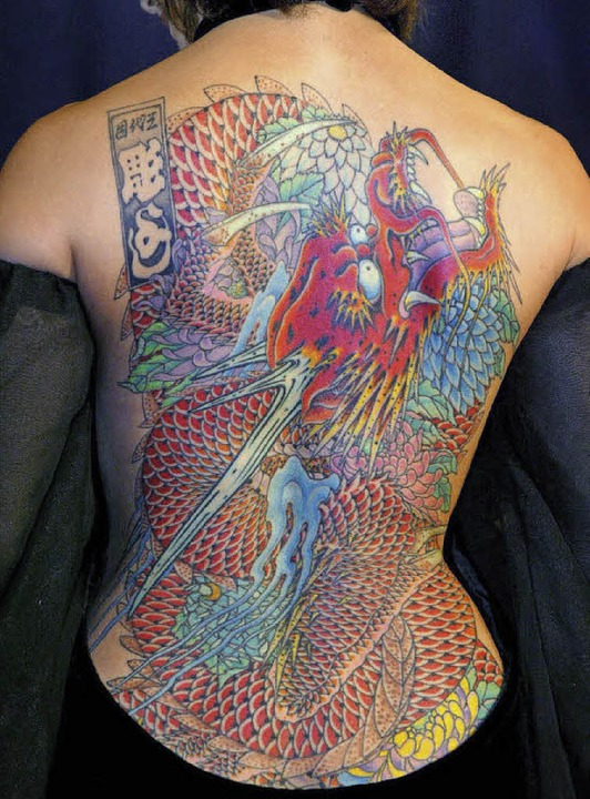 Tattoos entfernen ist für Hautärzte ein wachsendes Geschäft.    Foto: dpa