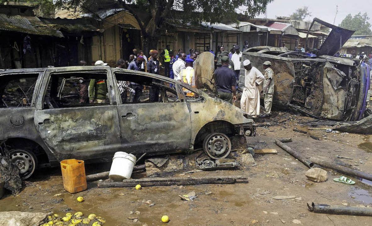 Seit Jahren terrorisiert Boko Haram mi...n die Bevölkerung im Norden Nigerias.   | Foto: AFP