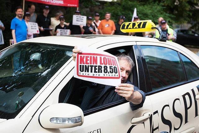 Mindestlohn macht Taxifahren in Südbaden teurer