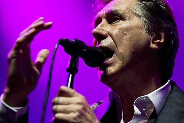 Roxy-Music-Sänger Bryan Ferry über empfindliche Stimmbänder