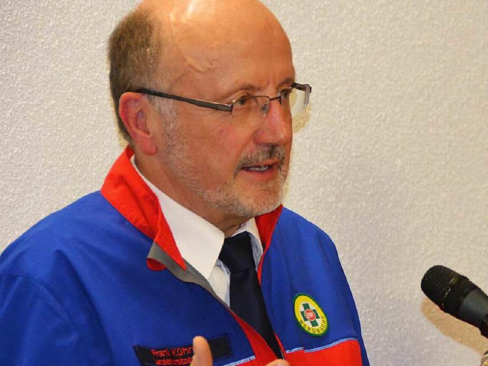 Frank Kühnel, Landesvorsitzender der Bergwacht Schwarzwal  | Foto: Juliane Kühnemund