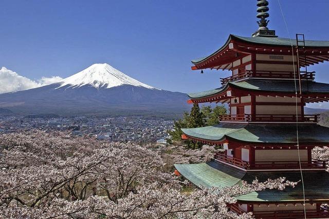 Marcus Haid zeigt Bilder aus Japan