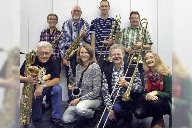 Aargauer Exciting Jazz Crew spielt in Fricks Monti