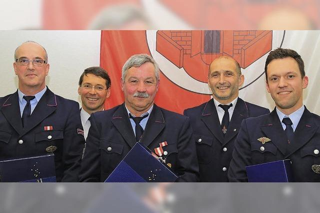 Mehr als 100 Einsätze der Feuerwehr