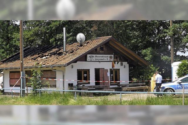 Motorradfreunde Hotzenwald wollen ausgebranntes Vereinsheim instandsetzen