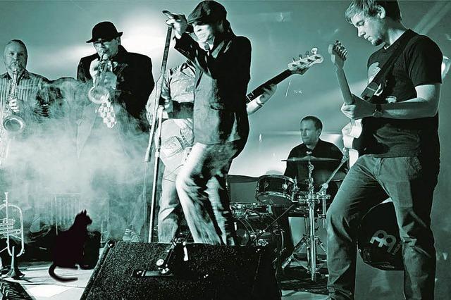 Die Funk Farmers spielen im KiK in Offenburg