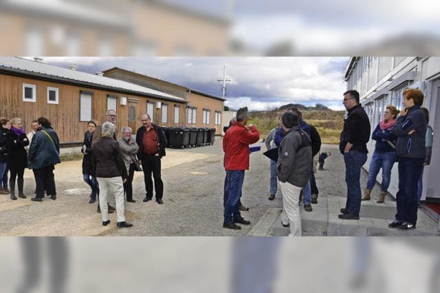 Viel Lob fürs Flüchtlingsheim am Katzenberg