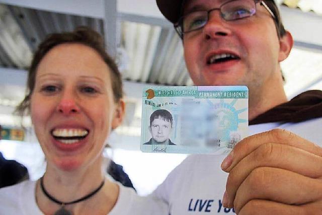 Vereinigte Staaten verlosen 55.000 Green Cards pro Jahr