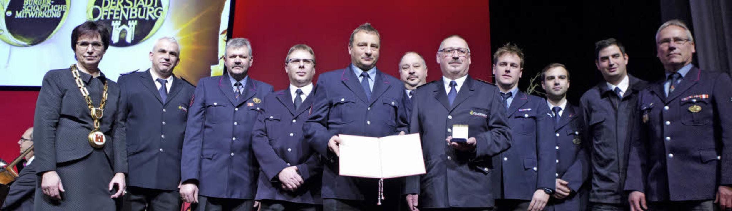 Auf sie können sich die Offenburger ru... wurde mit der Bürgermedaille geehrt.     Foto: Fotos: FAruk Ünver
