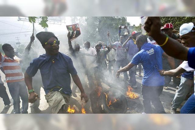 Haiti kommt nicht zur Ruhe