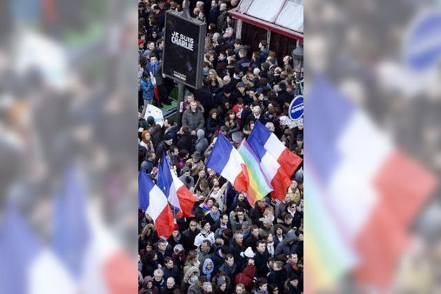 Millionen Franzosen marschieren in Paris für Toleranz und Freiheit