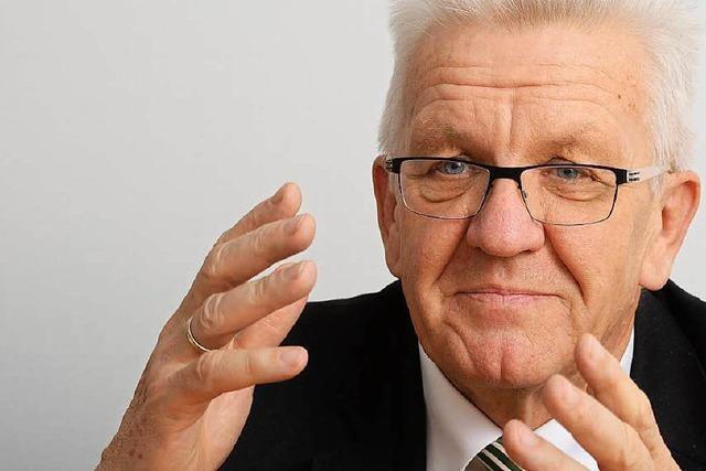 Kretschmann plädiert für kurzen Wahlkampf