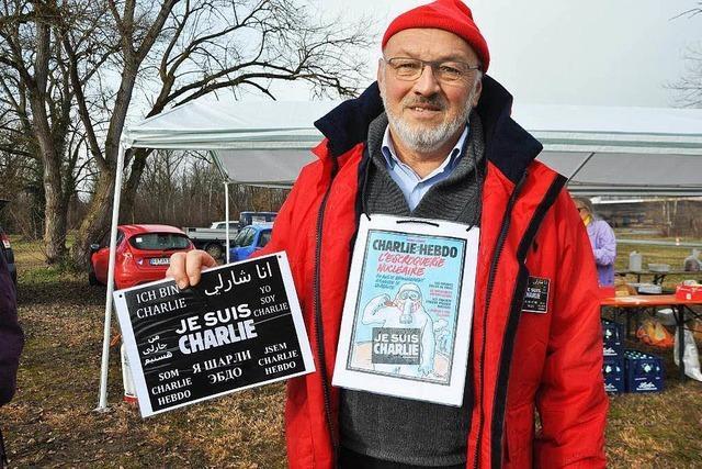 Atomkraftgegner halten am Protest fest