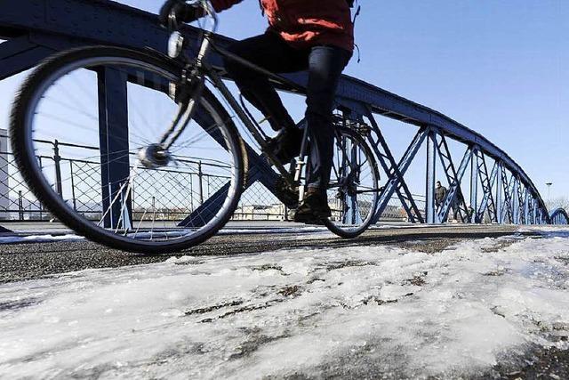 Kein Schnee – aber eine Debatte über Winterdienst auf Radwegen