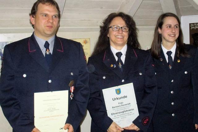 Arbeitsreiches Jahr für Feuerwehr