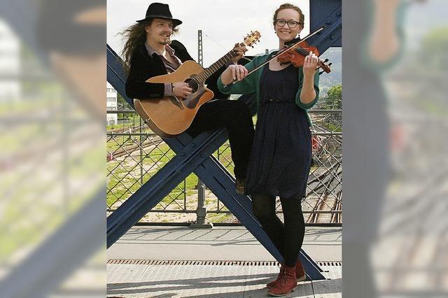 Sophia & Beni im Nellie Nashorn in Lörrach
