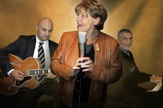 Jazzclub mit Greetje Kauffeld im Salmen Offenburg