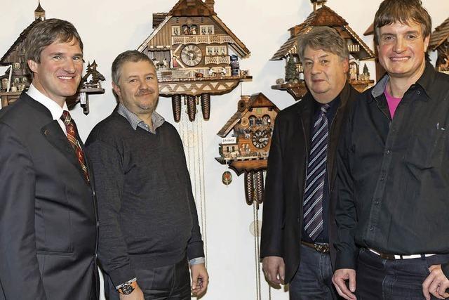 Kuckucksuhr des Jahres 2014 stammt aus Schonach