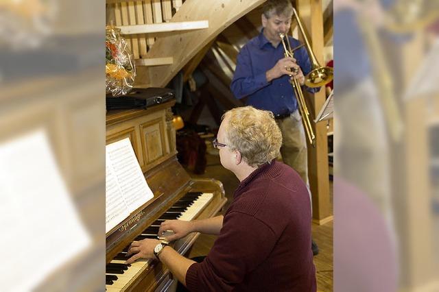 Neues Klavier für Hagehus